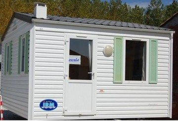 Mobil-home 1 chambre 2 personnes